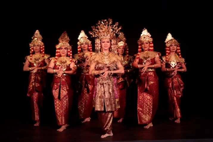 Penampilan Budaya Melayu di Galeri Indonesia Kaya