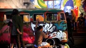 400 Meter Penuh Akan Mural di Dinding Surakarta