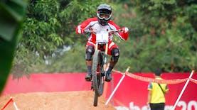 Atlet Putra Sepeda Gunung Sumbang Emas Untuk Indonesia di Asian Games 2018