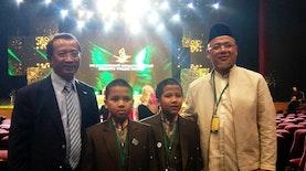 Membanggakan, Hafiz Cilik Asal Indonesia Tampil di MTQ Moskow!