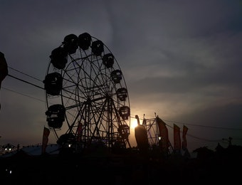 Hanya 18 Hari, Pasar Malam Sekaten di Yogyakarta Sudah Mulai Loh...
