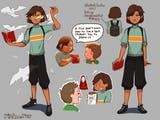 Rizka dan Komik Anti Bullyingnya di Markas PBB