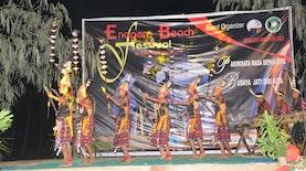Tarian Tradisional di Festival Pantai Enagera, Nagekeo