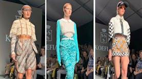 Kain Indonesia Menjadi Bintang di Peragaan Mode di Roma