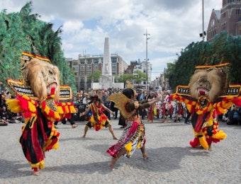 Sang Dadak Merak-pun Pukau Masyarakat Belanda