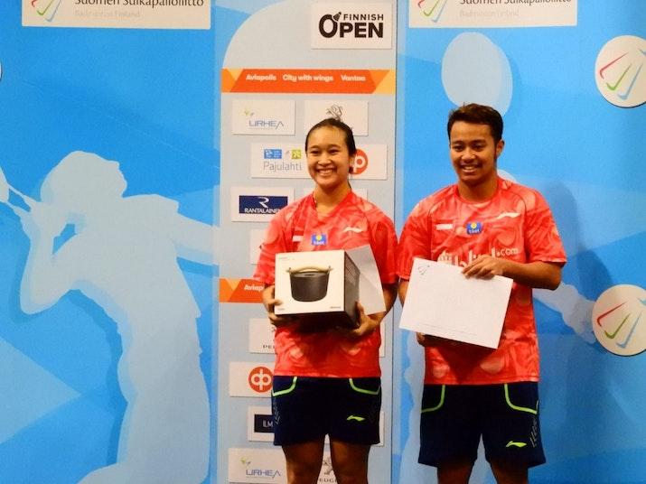Tim Bulutangkis Indonesia Bawa Pulang 2 Gelar dari Finnis Open 2019