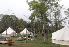 Menikmati Alam dengan Glamping di Kaki Gunung Merapi