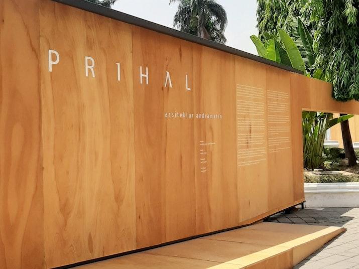 """""""Prihal"""" sebagai Peringatan 20 Tahun Arsitek Andra Matin Berkarya"""