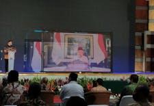 Menristek/ Kepala BRIN Sampaikan Fokus Prioritas Riset Nasional pada Rakornas PRN