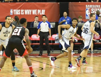 "Putera Indonesia di Laga Basket ""NBA Summer League"""