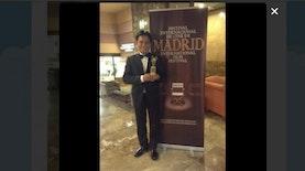 Yusril Raih Penghargaan Aktor Terbaik Pada Ajang Film Festival Internasional Di Madrid