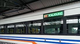 KA Kaligung Akhiri Penantian 122 Tahun Cirebon Prujakan