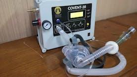 Ventilator CONVENT-20 UI Lulus Uji Klinis Manusia dan Siap Diproduksi Massal