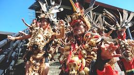 Pesta Dayak Tahunan, Ajang Silaturahmi Indonesia-Malaysia