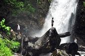 Air Terjun Tunaohok Potensi Wisata Kampung Leng di Rimba Egon Ilimedo
