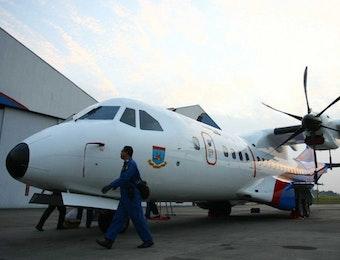 Pesawat Buatan Tanah Air Indonesia Isi Hanggar Kepolisian Negara Republik Indonesia