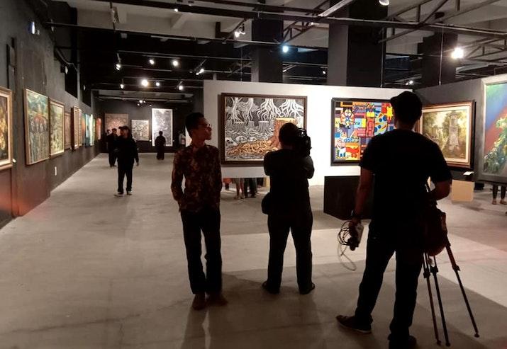 """""""Nuansa Estetika"""" Menandai 10 Tahun Edu Art Forum"""