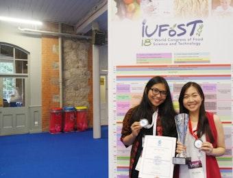Cookie Daun Kelor Buatan Mahasiswa Indonesia Raih Penghargaan Internasional