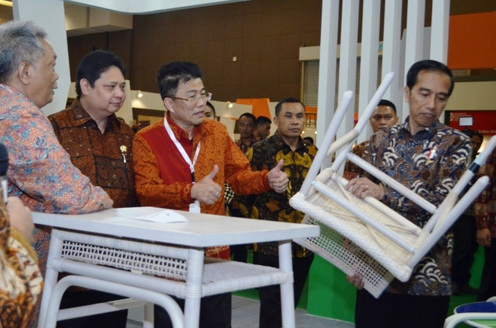 Kerajinan Lokal Semakin Diminati, dengan Dukungan Alat Canggih Industri Mebel RI Pantas Kuasai Dunia