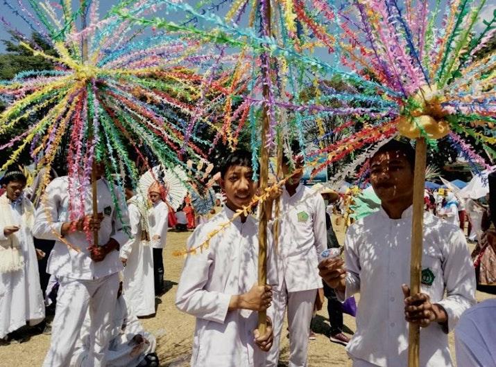 Tertibnya Pawai Tahun Baru Islam di Kota Paling Toleran Salatiga