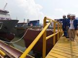 Gambar sampul Kapal Perang Filipina ternyata dari Indonesia, loh!