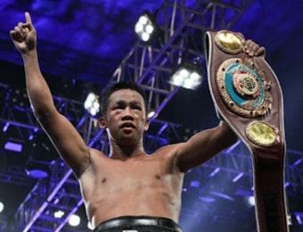 Daud Yordan Bawa Sabuk Juara WBA untuk Indonesia