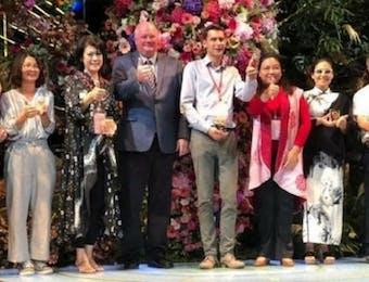 Indonesia Raih 3 Penghargaan Festival Bunga Di Taiwan