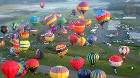 Tak Perlu Jauh-Jauh ke Eropa, di Kabupaten Ini Ada Festival Balon Udara