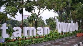 Kota Surabaya Makin Sejuk, 70 Taman Baru Diresmikan