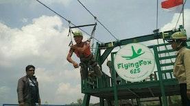 Flying Fox Terpanjang di Asia Tenggara Ada Di Jogja Loh, Berani Coba Kawan?