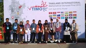 Siswa SMP Panen Medali di Olimpiade Matematika Thailand 2019
