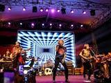 Gambar sampul God Bless, Kisah Setengah Abad Inspirasi Band Rock Indonesia