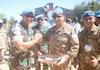 Pasukan TNI di Sudan Terima Penghargaan Dari Unamid