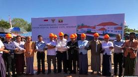 Pesan Perdamaian Melalui Rumah Sakit Indonesia di Myanmar