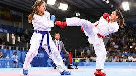 Siswi Madrasah di Lombok Juara Karate Internasional