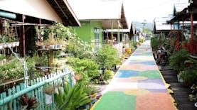 Kampung Warna-warni Desa Hilir Muara, dari Kumuh Jadi Percontohan