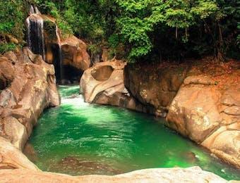 Air Terjun Terindah di Hutan Gamaran