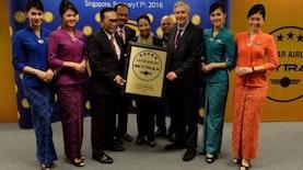 Garuda Indonesia Kembali Raih Penghargaan Maskapai Bintang 5