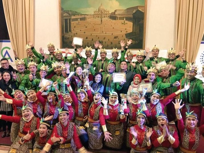Jakarta Youth Choir Raih Nilai Sempurna di Festival Paduan Suara Internasional