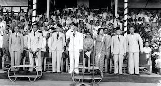 Gambar sampul PON I, Penyelenggaraan Ajang Olahraga Nasional Bukti Tonggak Kemerdekaan
