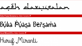 "Adien Gunarta, Desainer Font Film ""Despicable Me"""