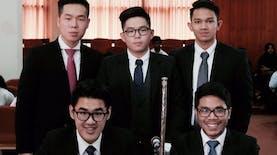 Delegasi Mahasiswa FHUI Bawa Pulang Kemenangan dari Sri Lanka