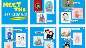 Alumni UNS Bentuk Gerakan Ilustrator Peduli