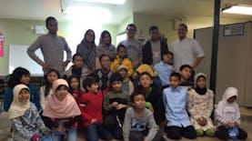 Anak-anak Belajar Bahasa Indonesia di New York, Amerika Serikat