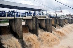 Bendung Katulampa, Beton Belanda Pengendali Banjir Jakarta