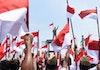 Gagahnya Merah Putih Raksasa Pecahkan Rekor Dunia