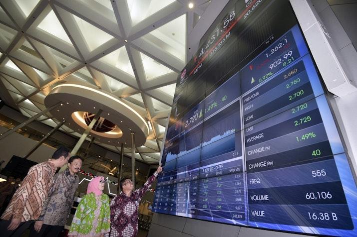 Indeks Saham Indonesia Tertinggi di ASEAN, Terbaik Kedua di Dunia