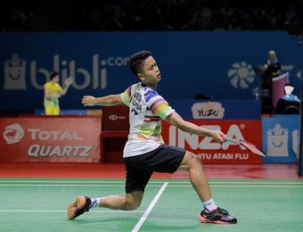 Profil Indonesia Open 2019: Anthony Ginting yang Tahan Banting