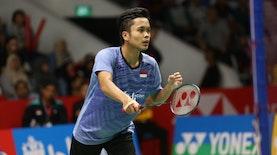 Awal yang Baik dari Anthony Ginting di Malaysia Masters 2019