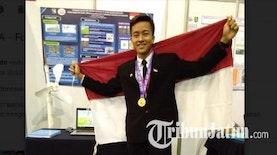 Pemuda Asal Malang Ini Raih Medali Emas di Korea Selatan